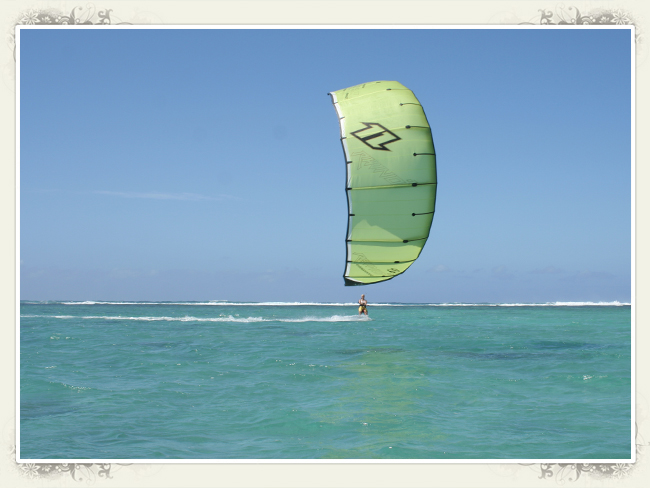 Kite Trip - Lagoon of Belle Mare Palmar